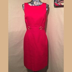 50% OFF TAHARI BEAUTIFUL RED DRESS